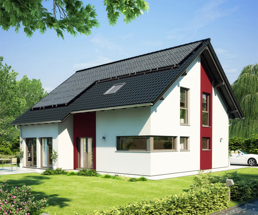 surplus energy buildings put to the test in frechen near cologne manufacturers of pre fabricated houses bien zenker finger haus huf haus luxhaus - Bien Zenker Haus