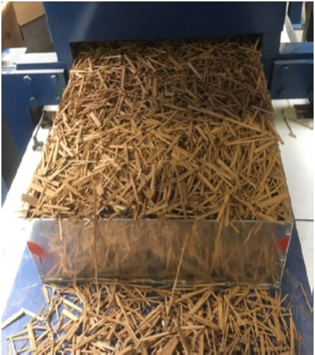 Production of typha panels